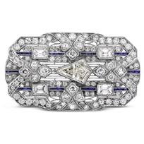 Platinum_Sapphire_and_Diamond_Brooch,_Circa_1920