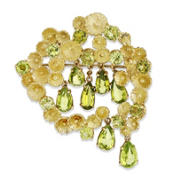 18K_Yellow_Gold_Peridot_Pin
