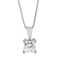 18K_White_Gold_Princess_Cut_Forevermark_Diamond_Pendant,_0.82ct