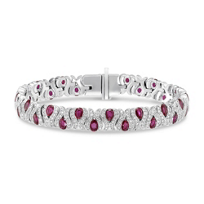 14K_White_Gold_Ruby_and_Diamond_Swirl_Bracelet