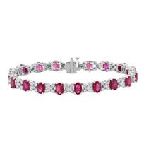 18k_white_gold_oval_ruby_&_diamond_alternating_station_bracelet
