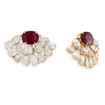 18K_Rose_Gold_Ruby_and_Diamond_Fan_Earrings