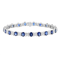 18k_white_gold_oval_sapphire_&_diamond_alternating_bracelet