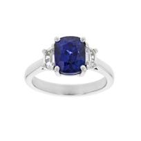 platinum_cushion_sapphire_&_half_moon_diamond_ring