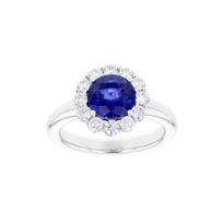 18k_white_gold_round_sapphire_&_diamond_scalloped_halo_ring