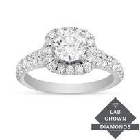 14K_White_and_Rose_Gold_Lab_Grown_Pave_Set_Diamond_Halo_Tapered_Engagement_Ring