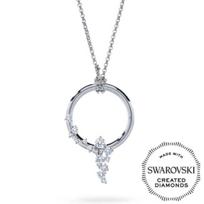 Diama_18K_White_Gold_Signature_Swarovski_Created_Diamond_Circle_Necklace