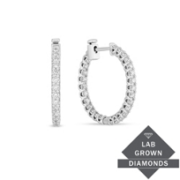 14K_White_Gold_Lab_Grown_Diamond_Inside-Out_Hoops,__1.96cttw