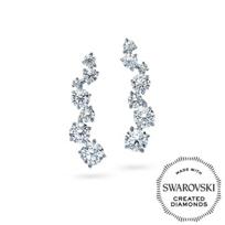 Diama_18K_White_Gold_Signature_Swarovski_Created_Diamond_Earcuff_Earrings