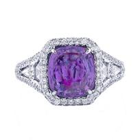 platinum_cushion_purple_sapphire,_white_&_yellow_diamond_ring