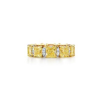 Kwiat 18K Yellow Gold Diamond Wedding Ring