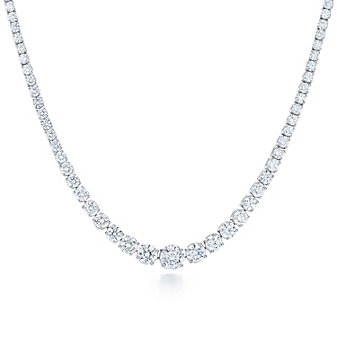 Kwiat Platinum Riviera Diamond Necklace, 11.63cttw