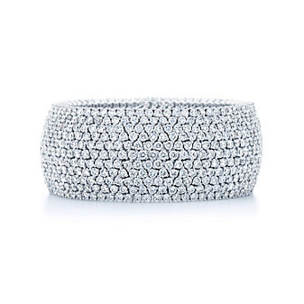 Kwiat 18K White Gold Moonlight Diamond Bracelet
