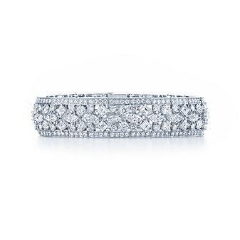 Kwiat Platinum Diamond Legacy Bracelet