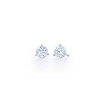 Kwiat_Platinum_Diamond_Stud_Earrings,_1.06cttw