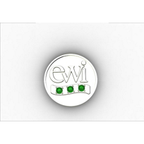 EWI_Chapter_President_Pin_Sterling_Silver_with_Tsavorites_
