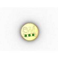 EWI_Chapter_President_Pin_14K_Yellow_Gold_with_Tsavorites_