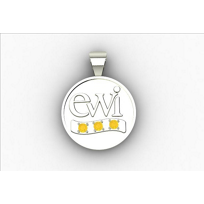 EWI_Chapter_Board_Charm_14K_White_Gold_with_Citrines