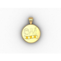 EWI_Chapter_Board_Charm_14K_Yellow_Gold_with_Citrines