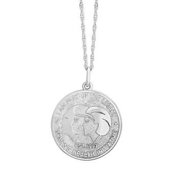 Sterling Silver WHI Pendant