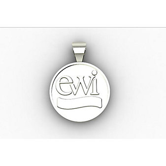 EWI Sterling Silver Charm