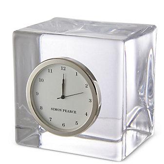 Corporate-Simon Pearce Woodbury Clock, Small