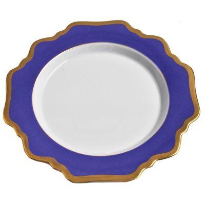 Anna Weatherley Anna's Palette Indigo Blue Dinnerware