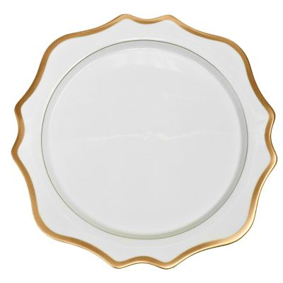 Anna Weatherley Antique White with Gold Dinnerware