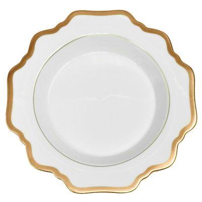 Anna Weatherley Antique White with Gold Dinnerware
