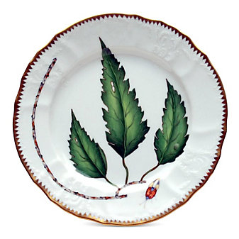 Anna Weatherley Green Leaf Dinnerware
