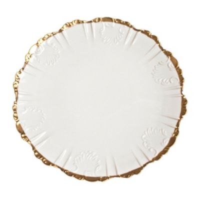 Anna Weatherley Anna's Golden Patina Scrolled Dinnerware