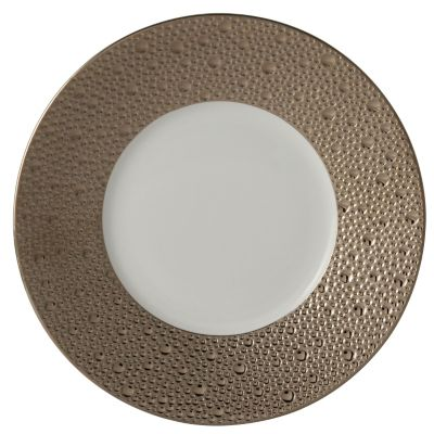 Bernardaud Ecume Platinum Dinnerware