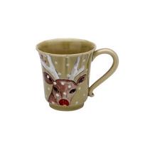 Casafina_Deer_Friends_Green_Coffee_Mug