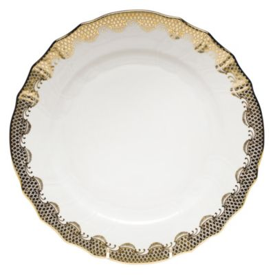 Herend Fish Scale Gold Dinnerware