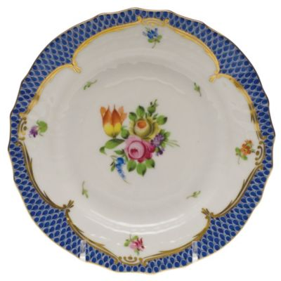 Herend Printemps Blue Border Dinnerware
