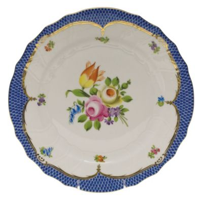 Herend_Printemps_Blue_Border_Dinnerware