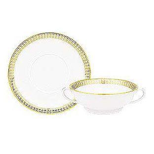 Haviland Plumes Or (Gold) Dinnerware