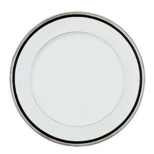 Haviland Symphonie Platinum and Black Dinnerware