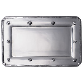 Juliska Berry & Thread Metalware Medium Rectangular Gift Tray