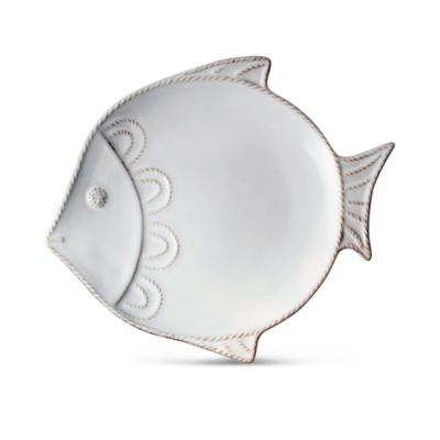 Juliska Berry And Thread Fish Salad Plate White