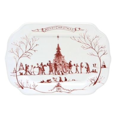 Juliska Country Estate Winter Frolic Ruby Dinnerware