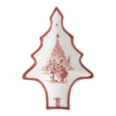 "Juliska Country Estate Ruby 8"" Tree Tray"
