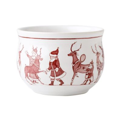 juliska country estate ruby reindeer games comfort bowl