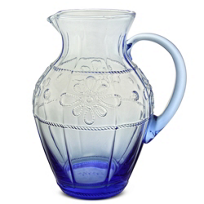 Juliska_Colette_Pitcher,_Delft_Blue