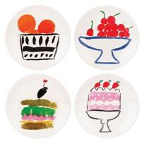 Kate_Spade_All_In_Good_Taste_S/4_Appetizer_Plates