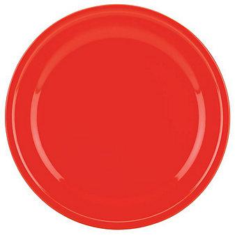 Kate Spade All In Good Taste Scalloped Red Dinner Plate