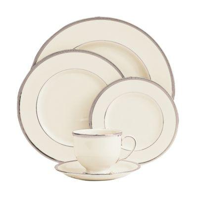 Lenox Tuxedo Platinum Dinnerware