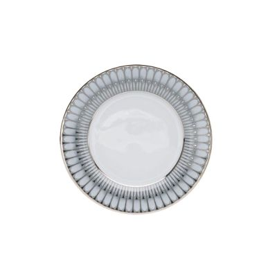 phillipe deshoulieres arcades with grey dinnerware
