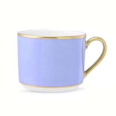 Pickard ColorSheen Blue Gold Ultra White Dinnerware