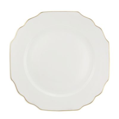 Pickard Georgian Gold Ultra White Dinnerware